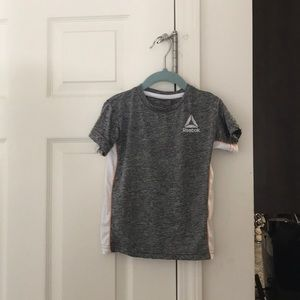 Reebok 4T toddler boy shirt in gray